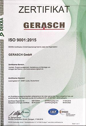ISO-9001-DEKRA-Saxlander-Gerasch-Siemens-Partner-300x440px